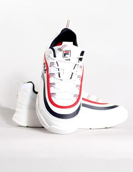 Zapatillas Fila W RAY LOW - WHITE NAVY RED