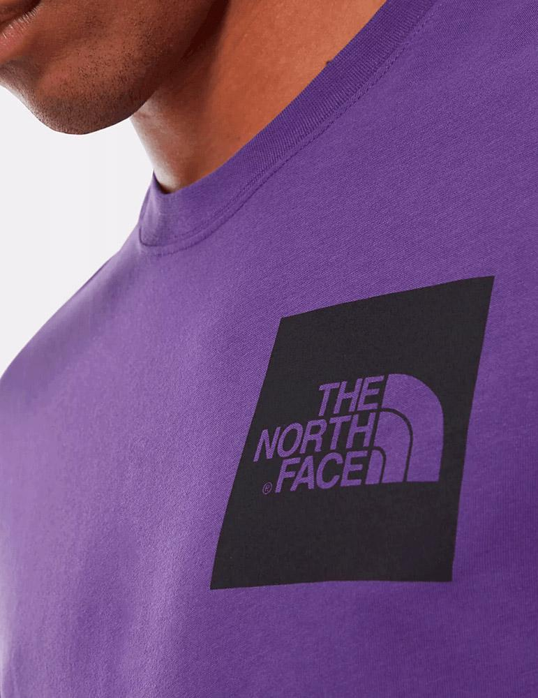 Camiseta The North Face FINE - Morado