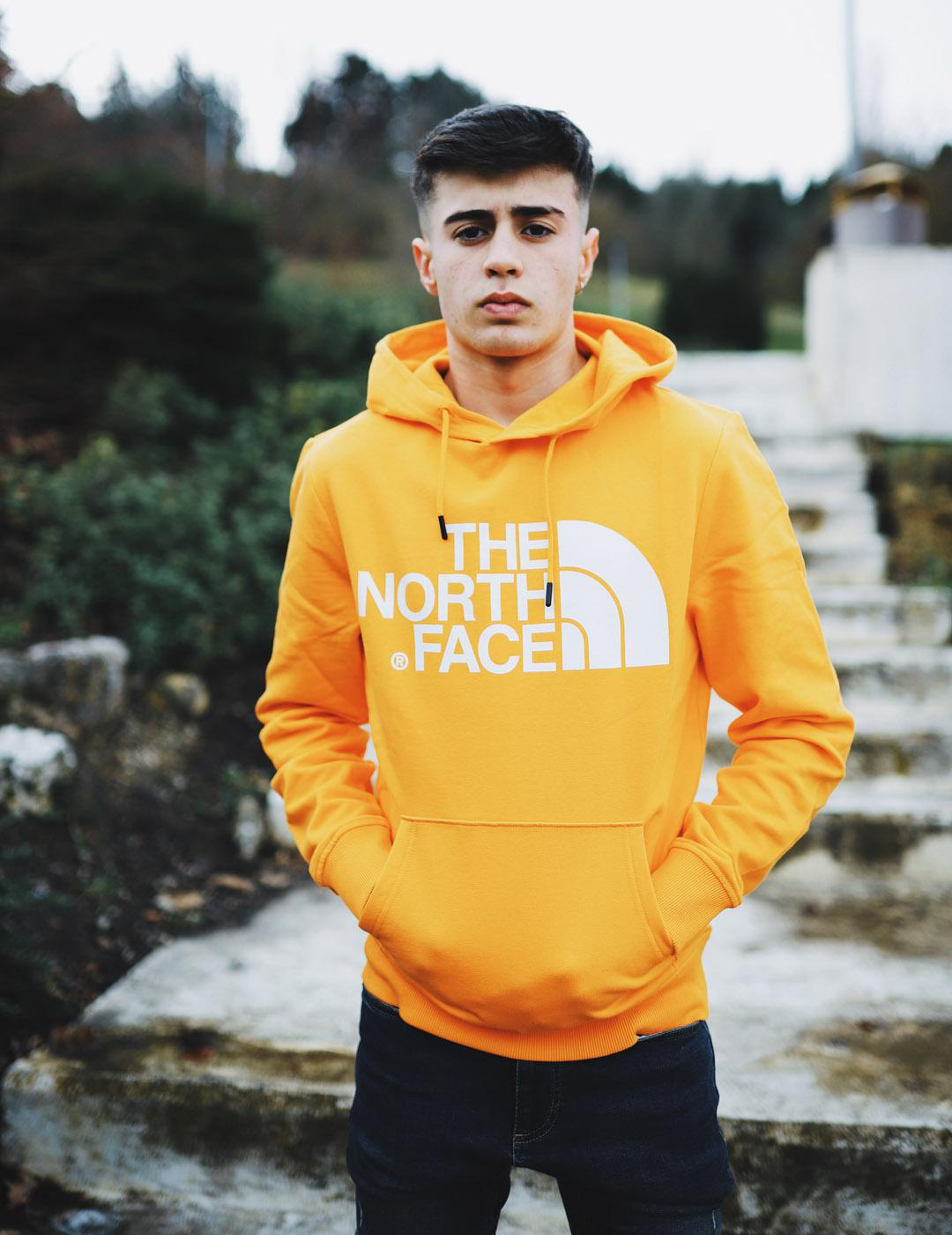 Sudadera The North Face STANDARD HOODIE  - Naranja