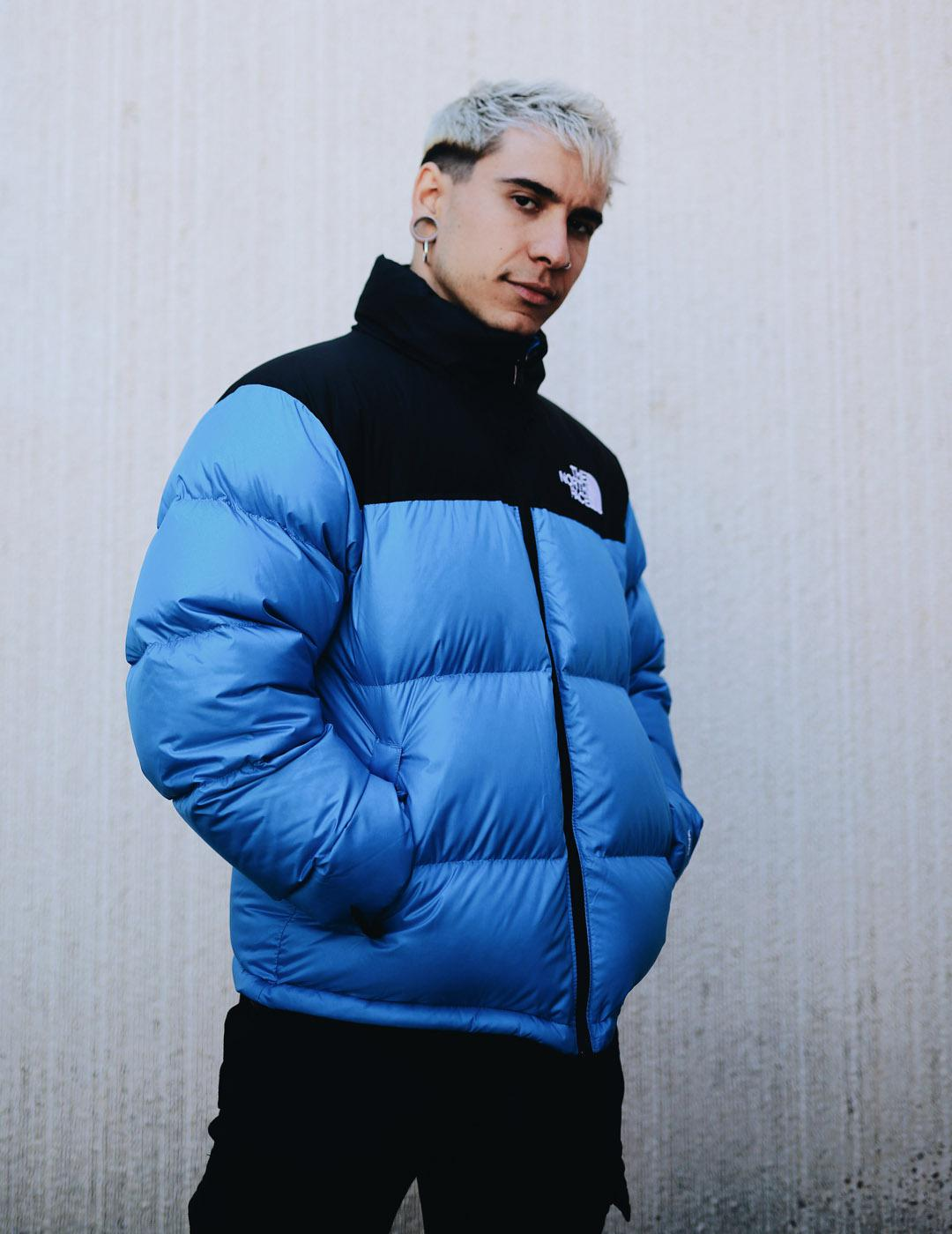 Cazadora The North Face M 1996 RETRO NUPTSE - Azul
