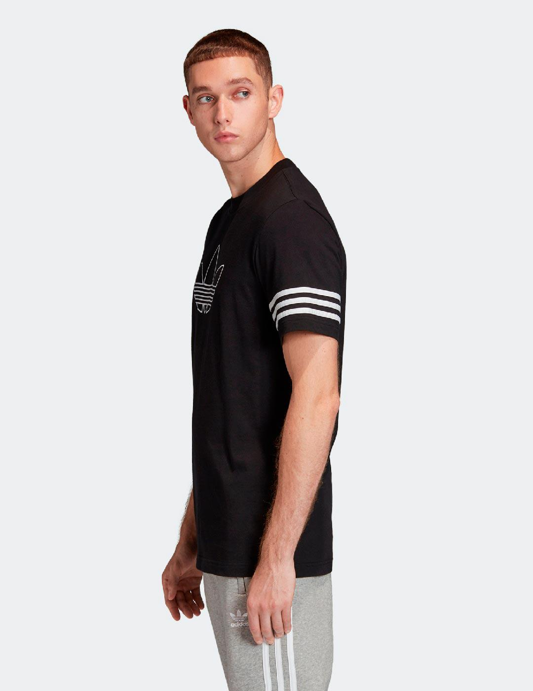 Camiseta OUTLINE - Negro