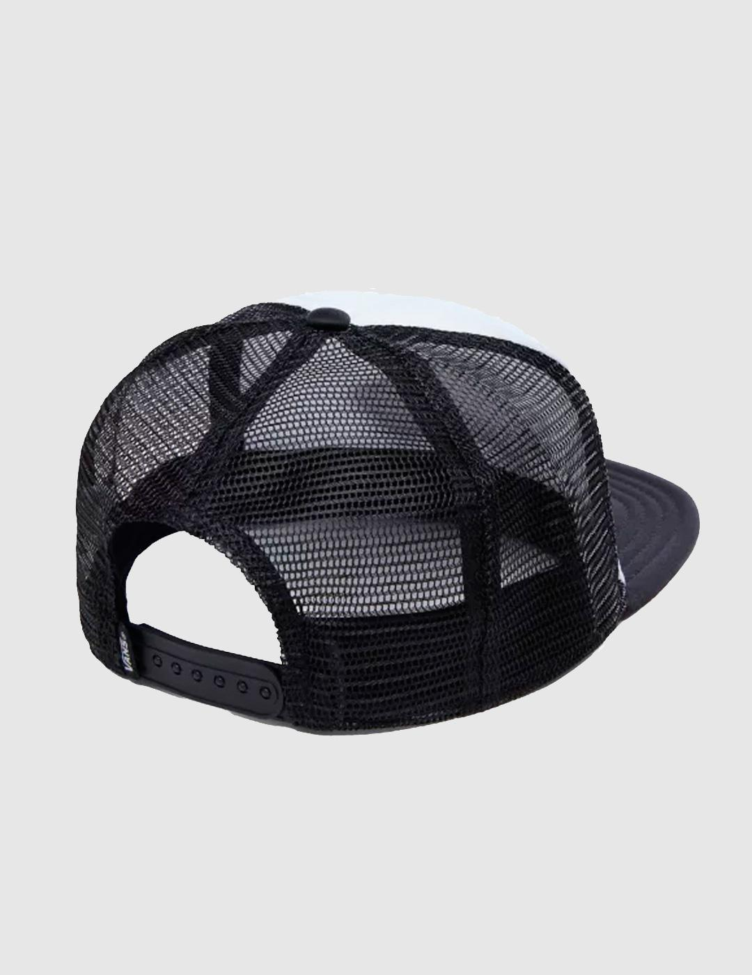Gorra Trucker CLASSIC PATCH - Blanco/Negro