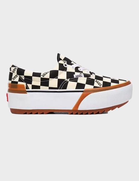 Zapatillas Vans ERA STACKED- Multi/True White Checkerb