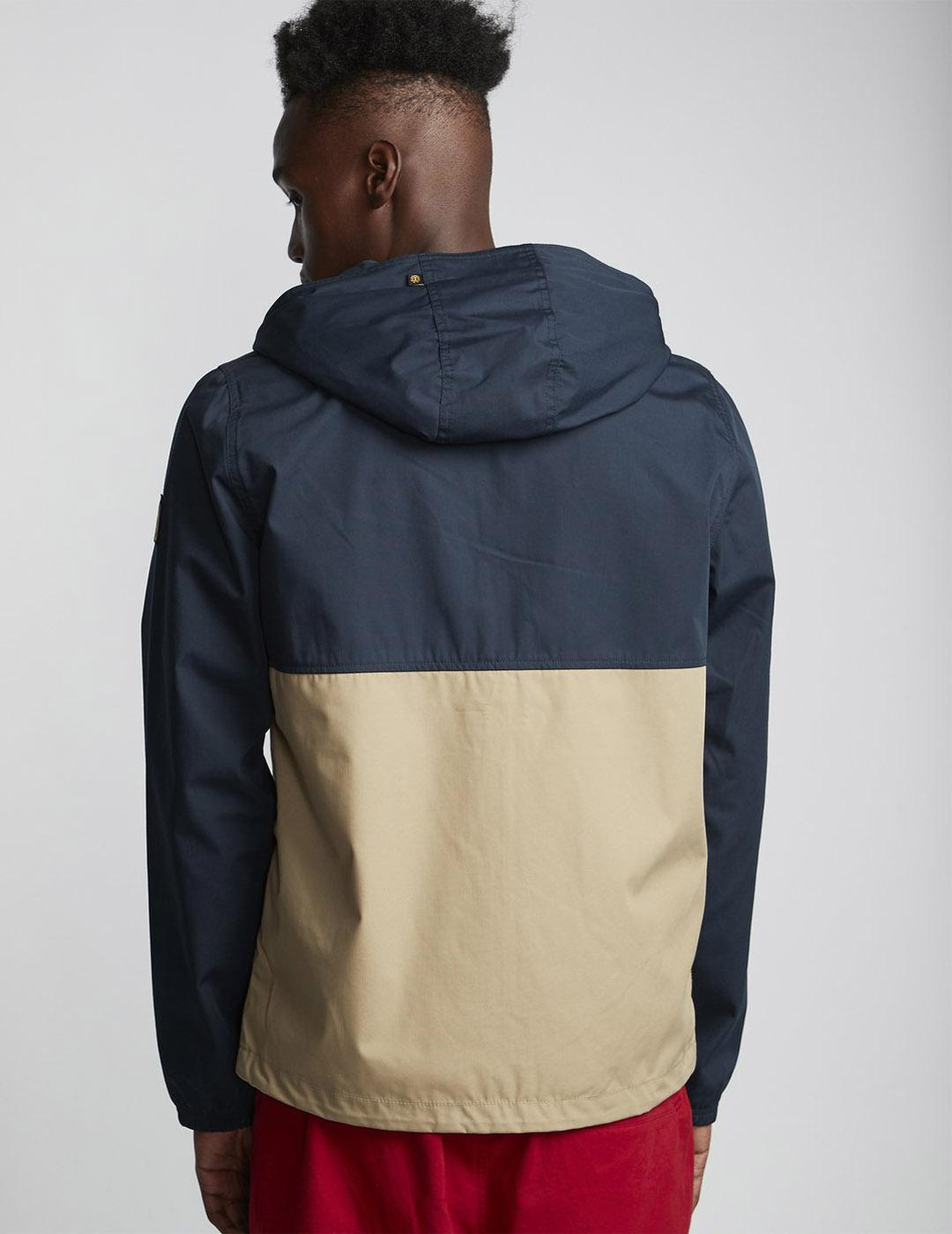 Cazadora Element ALDER LIGHT 2TONES JACKET Blue