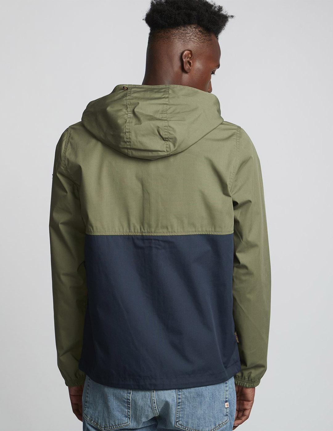 Cazadora Element ALDER LIGHT 2TONES JACKET Green