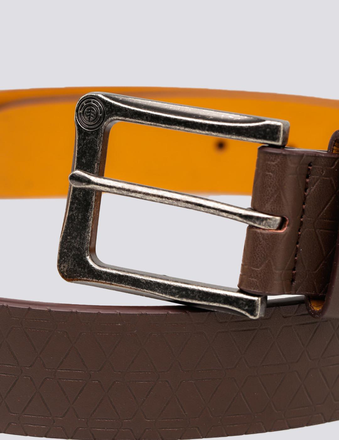 Cinturón Element  CADEN BELT - COFFEE BROWN