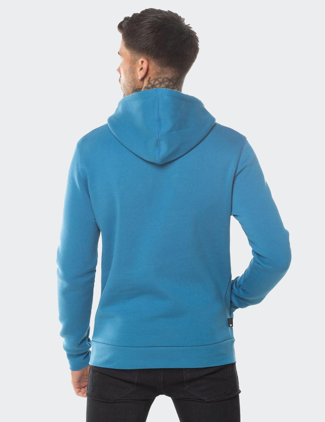 Sudadera Eleven Degre CORE PULLOVER HOODIE -DEEP WATER BLUE
