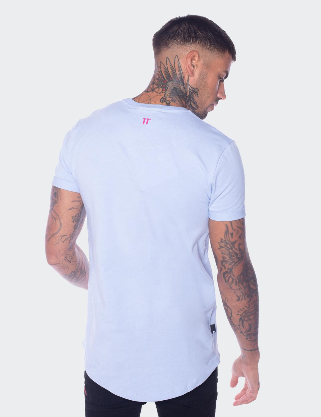 Camiseta Eleven Degree MUSCLE FIT  - Blue