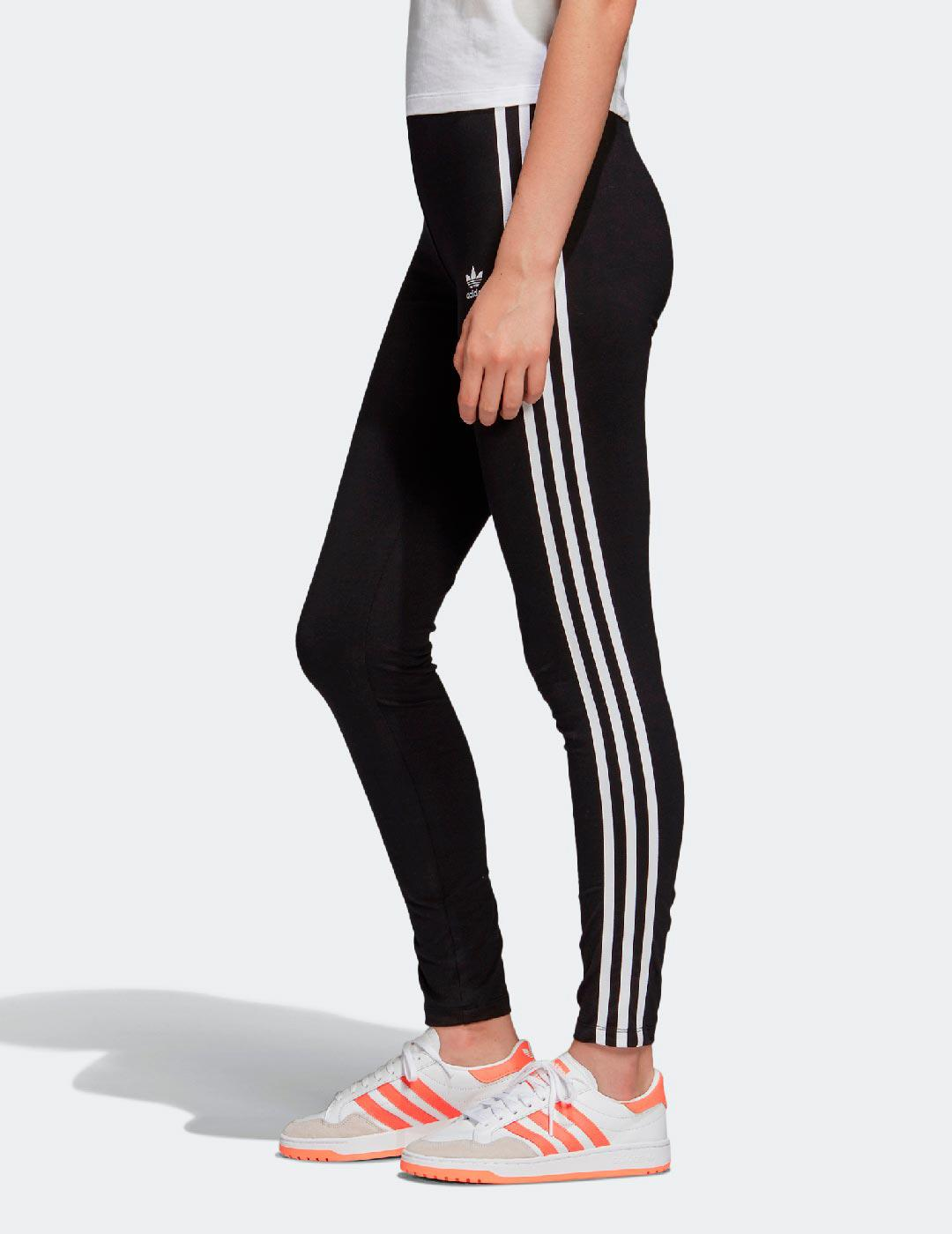 Leggings 3 STRIPES TIGHT - Negro