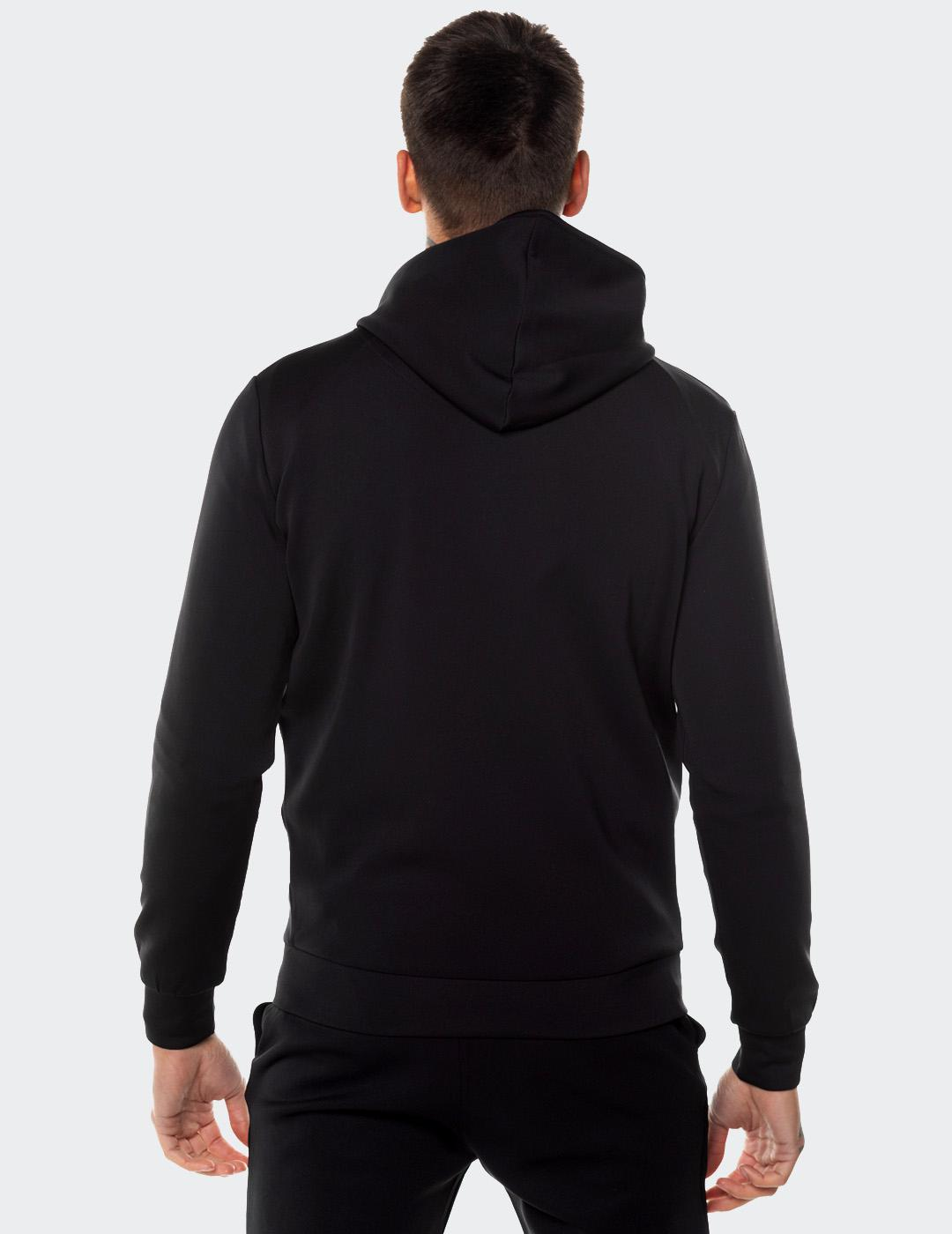 Sudadera Capucha Eleven Degree CORE FULL ZIP - Black