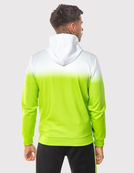 Sudadera Eleven Degree DOT FADE FULL ZIP POLY TRACK - LIME