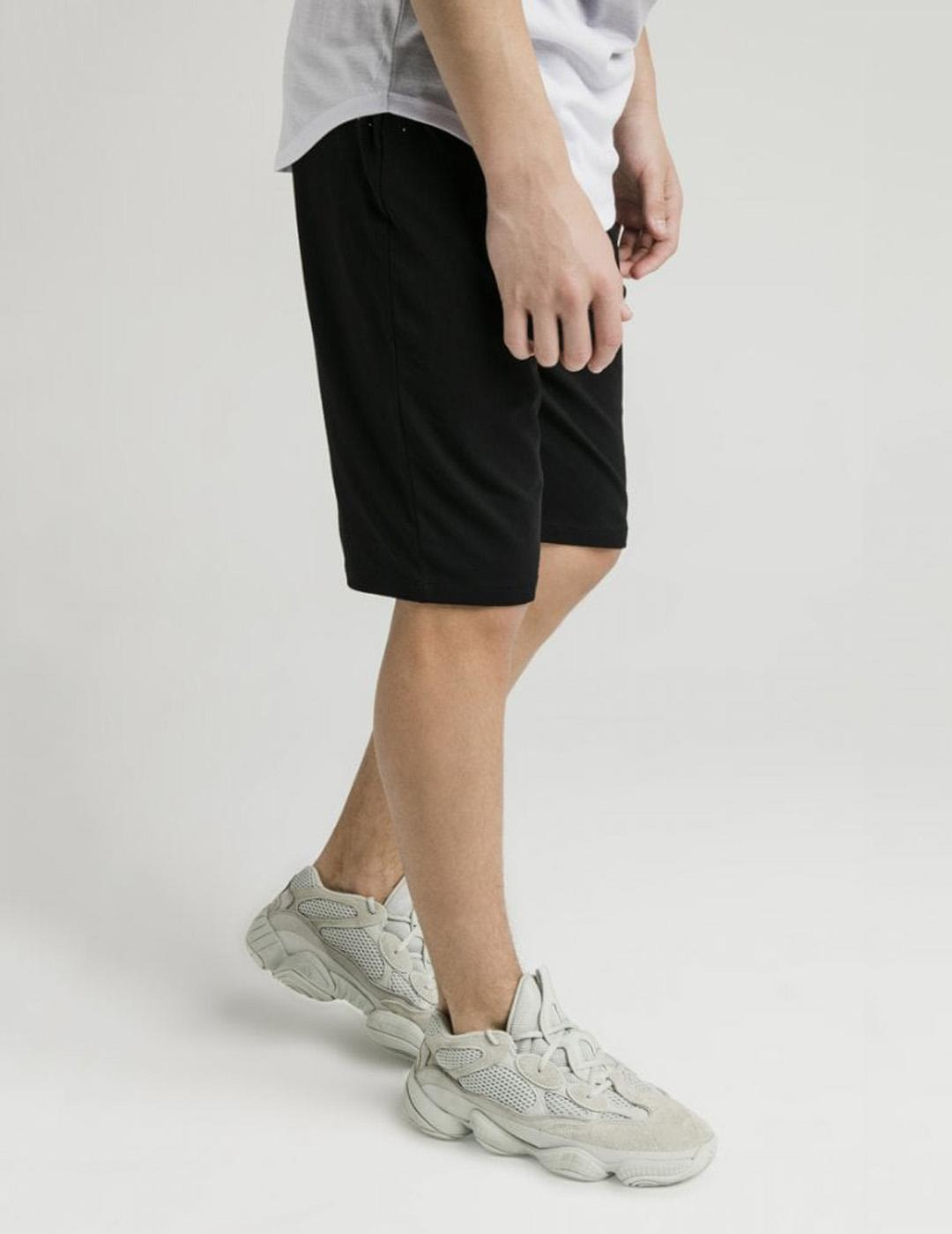 Bermuda JERSEY SHORTS - BLACK