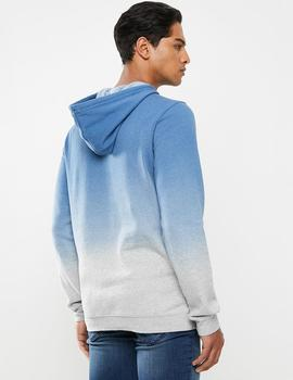 Sudadera DIPDYE ONE-ONLY BLOCKED - Pacific Blue