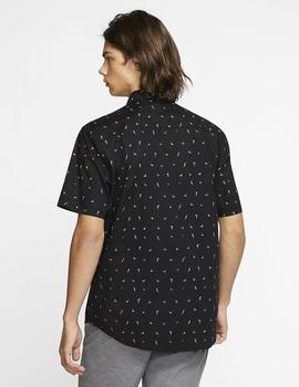 Camisa BIRDS STRETCH - Negro