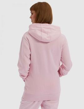 Sudadera Capucha TORICES - LIGHT PINK