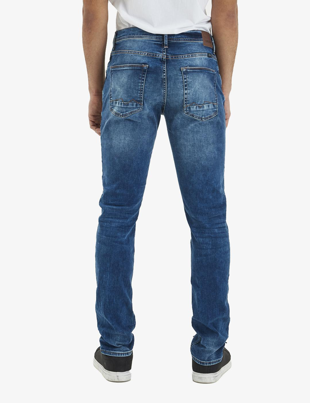 Pantalón 9689 CLEAN - Denim Middle blue