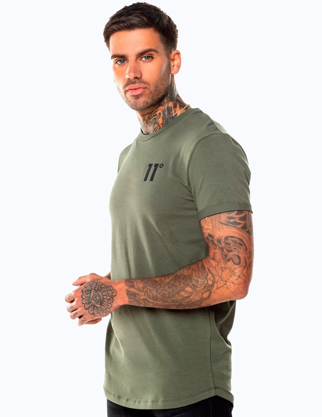 Camiseta Eleven Degree CORE MUSCLE FIT - Khaki