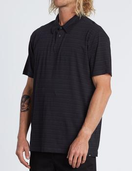 Polo Billabong STANDARD ISSUE POLO black