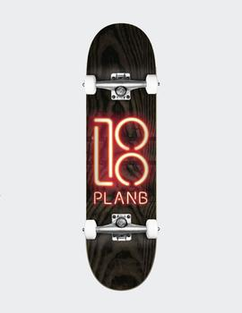 Skate Completo Plan B Team Neon Sign 8.0'x31.85'