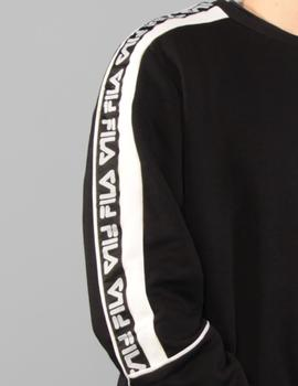 Sudadera TEOM - black/bright white