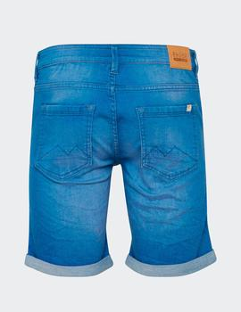 Bermuda Blend  DENIM SHORTS - DENIM CLEAR BLUE